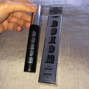 BUXOM lash mascara blackest black